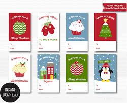 Christmas Tags Printable Christmas Gift Tags Holiday Gift TagsChristmas Gift Tag Design