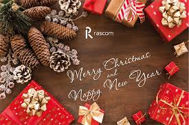 Dear Partners, we wish you a <b>Merry Christmas</b> and a <b>Happy</b> New ...