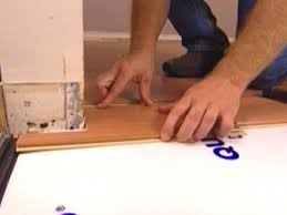install pieces round corners