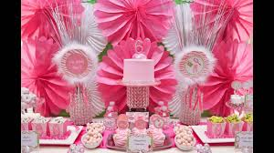 Baby Shower Tray Decoration Cute Girl birthday party decoration ideas YouTube 35