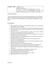 Sample Resume For Junior Sql Dba Oracle Apps Resume Samples Examples  Download Now Bartender Resume