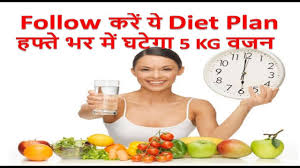 One Week Fruit Diet Chart How To Lose Weight Fast 5 Kg In 7 Days Indian Diet Plan Veg Meal Plan By Pooja Luthra In Hindi