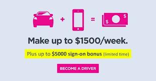 drive for lyft bonus