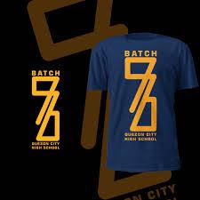 High School Batch Shirt Design T Shirt Designs