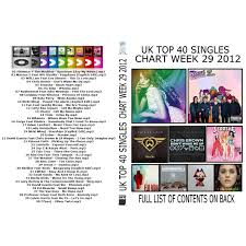 Top 40 Music Charts 2012 Uk Top 40 Singles Chart Week 29 Mp3 Buy Full Tracklist