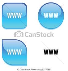 Www Glossy Button Www Glossy Vibrant Web Buttons