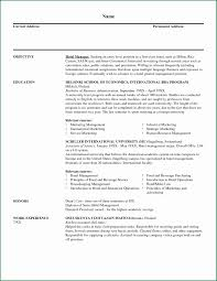 Dairy Manager Sample Resume Resume Examples For Managers Position Unique Sample Resume Hotel 15