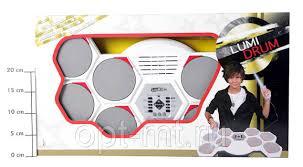 <b>Барабанная</b> установка Lumi Drum на батар., 8 подушек, светящ ...
