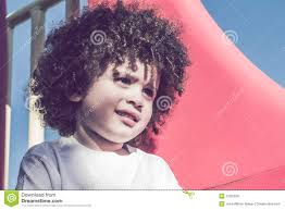Light Skin Boys With Curly Hair Cute Curly Hair Kid Stock Image Image Of Cute Outdoors