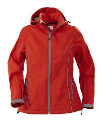 <b>Куртка софтшелл женская HANG</b> GLIDING, красная (артикул ...