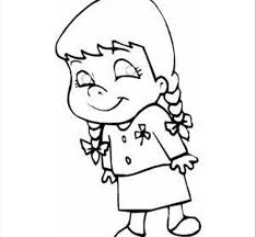 Small Picture Printable Little Girl Coloring Pages Fresh On Interior Animal