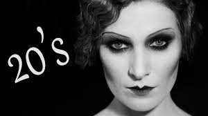 modern 1920s maquillaje años 20 20 s makeup hair tutorial subtítulos you