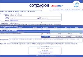 Formato De Cotizacion Para Llenar Descargar Gratis Modelos Plantillas Formatos De Cotizaciones