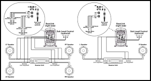 infinity basslink 10 schematic diagram installation procedure exploded view