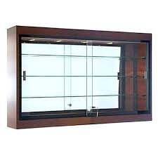 wall mount displays shadow box display case cabinet mounted ikea rack hooks white wall display cabinet hanging glass case