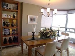 modern dining room table centerpieces. Image Of: Flower And Candle Dining Table Centerpieces Modern Room