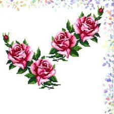 """<b>Флизелин</b> водорастворимый с <b>рисунком</b> """"<b>CONFETTI</b>. Розы ..."""