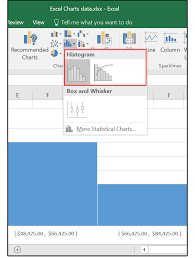 how to make a histogram in excel excel 2016 charts how to use the new pareto histogram and