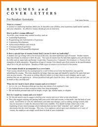 resume-resident-assistant-resume-resident-assistant-summer-resident-