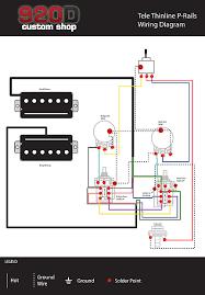 920d loaded pickguard fender 'modern player tele thinline reverb Fender Standard Stratocaster Wiring-Diagram at Wiring Diagram Modern Player Stratocaster