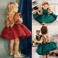 HOT Sequins <b>Dress</b> Kids Baby Flower <b>Girl Dress</b> Toddler Baby <b>Girls</b> ...