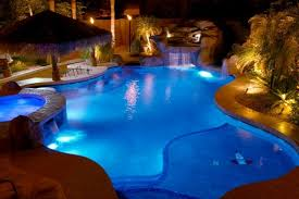 swimming pool lighting options. Pool Lighting Goes Beyond The Traditional Applications Of Simply Providing Light For Those Late Night Swimmers. Today There Are A Number Interesting Swimming Options