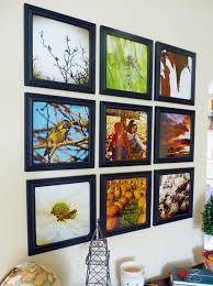 Wall Collage Living Room Decorating Ideas Beautiful Black Wood Frame Picture Collage With