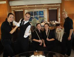 yacht stewardess a detailed job description book excerpt interior crew on superyachts wear many hats