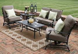 outstanding outdoor patio cushions 47 modern furniture sets sy iron chair frame two table bronze