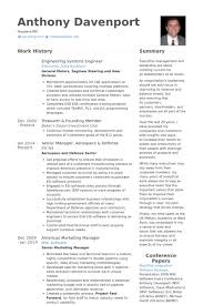 Systems Engineer Resume Samples Visualcv Resume Samples Database