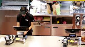 mcdonalds inside counter. Perfect Inside Top Shot Of People Ordering Food At Mcdonalds Check Out Counter Inside  Coquitlam Shopping Mall With 4k Resolution Stock Video Footage  Videoblocks Throughout Mcdonalds Inside Counter