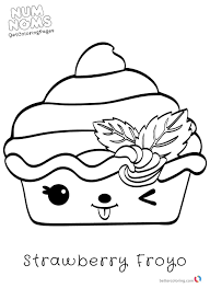 Num Nom Coloring Pages Awesome Num Noms Coloring Pages For Kids Free