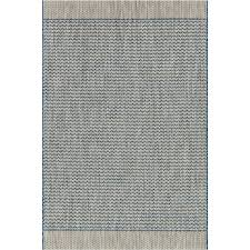 loloi isle indoor outdoor rug blue grey