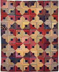 log cabin quilt patterns | Log cabin Quilt, 1875-1900 One of the ... & Quilt design Adamdwight.com