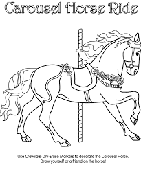 Small Picture Carousel Horse Coloring Page crayolacom
