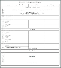 Team Snack Schedule Template Free Work Schedule Templates For Word And Excel 9 Team