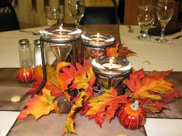 Autumn Wedding Table Decorations Ideas