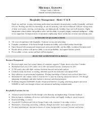 Stylish Design Hospitality Management Resume Michael Samawi Resume