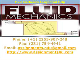 assignmentsu mechanical engineering assignments help online mechanic  fluid dynamics assignment help 7