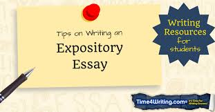how to write an expository essay com timewriting