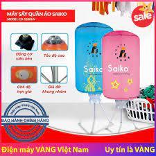 Máy sấy quần áo Saiko CD-1200UV có đèn UV diệt khuẩn