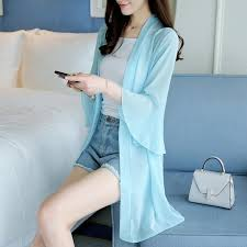 Beautiful Flare Ruffles Long Sleeve Office Wear <b>Women Summer</b> ...