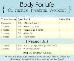 body for life cardio workout pdf