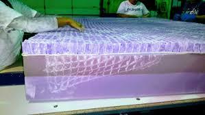 purple mattress. White Powder On A Purple Mattress E