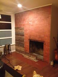 Renovate Brick Fireplace Renovation Realities Fireplace Remodel From Frumpy To Fantastic