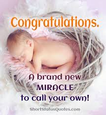 New Born Baby Status Captions And Messages