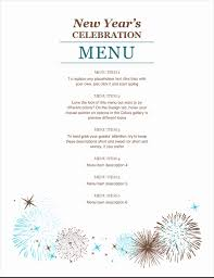 Safety exclamation, attention electricity zone illustration. New Year S Party Menu