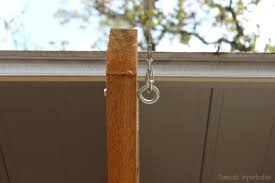 How To Hang Outdoor String Lights Best How To Hang Outdoor String Lights Domestic Imperfection