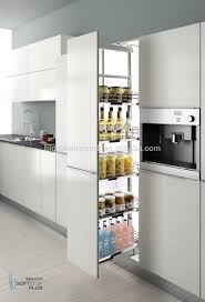 Pull Out Kitchen Storage Soft Close Slide Pull Out Tall Unit Storage Basket For Kitchen