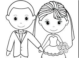 Wedding Coloring Pages Disney Their Love Who For About Wedding